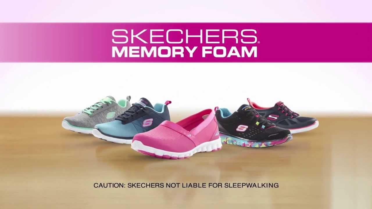 memory foam skechers