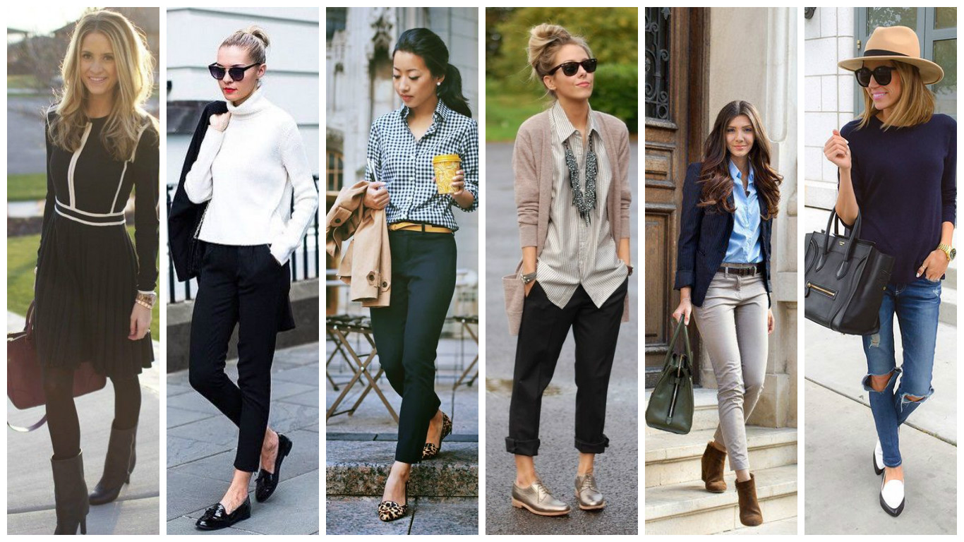 How To Style Office Chic Cloggs