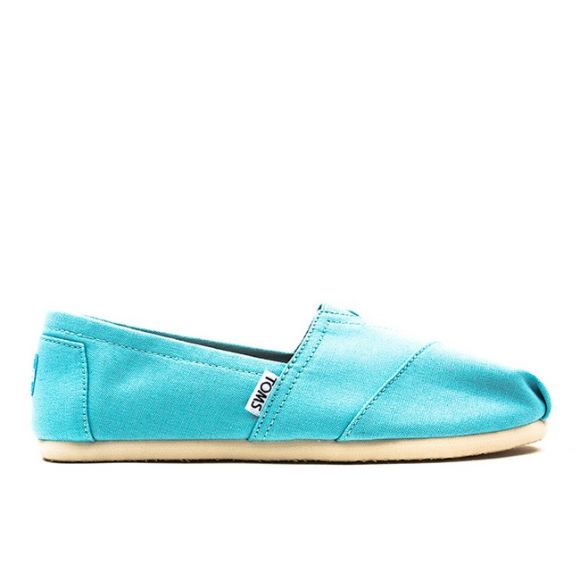 Toms Seasonal Classic Canal Blue
