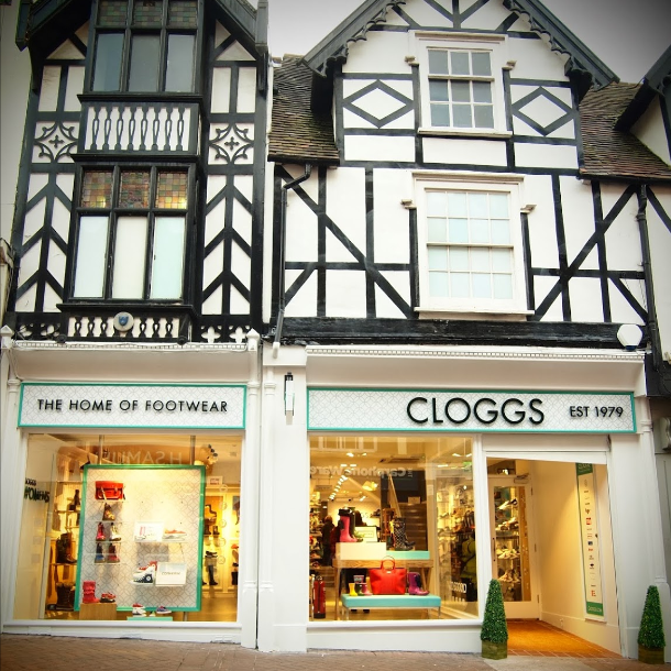 Cloggs Shrewsbury shoe shop