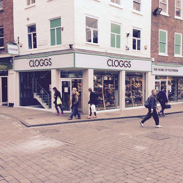 Cloggs York shoe shop
